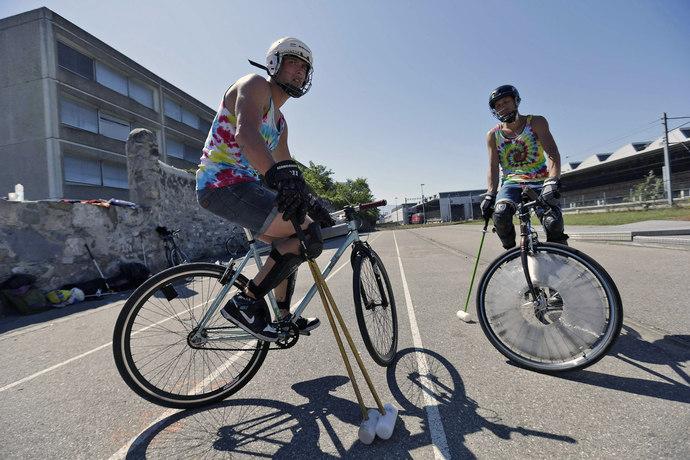 игра велосипедные