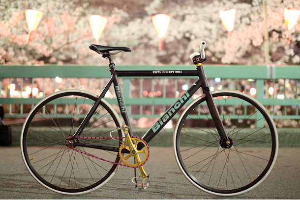 Fixed gear от Bianchi