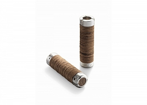 2Картинка Brooks Plump Leather Grips Brown